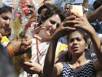 Priyanka Gandhi asks party workers: 'Should I fight from Varanasi'