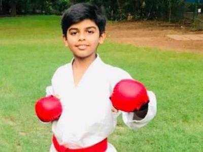 Ahmedabad karatekas win bronze medals in online championship