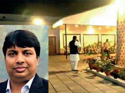 AICC Media Coordinator caught on wrong foot