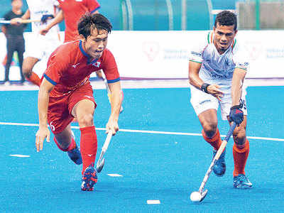India suffer first loss in Sultan of Johor Cup