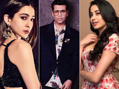 Karan Johar: Unfair to compare Janhvi Kapoor and Sara Ali Khan