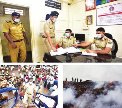 Mumbai cops' duty hrs cut in 'Zone Sick'