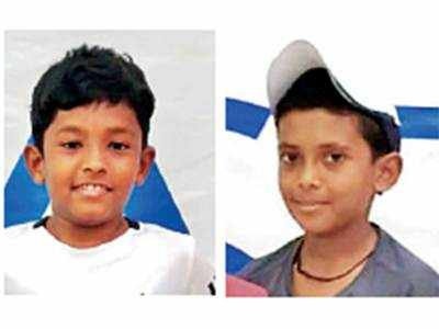 Devesh, Karan excel in state tennis meet