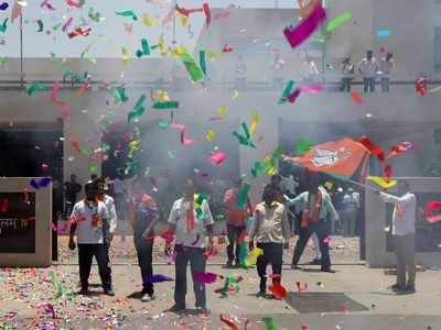 Lok Sabha elections: BJP wins big in Gujarat, completely routs Congress in repeat of 2014 performance