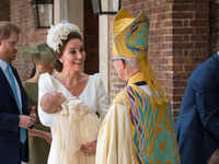 Kate Middleton's stunning headpiece at Prince Louis' christening