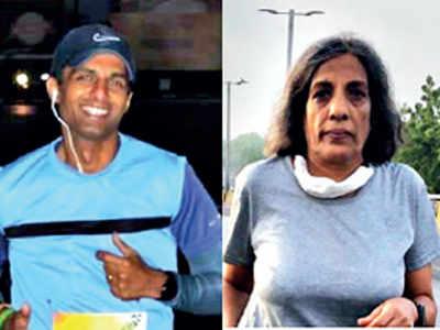 Runners take 'September challenge' for health, fitness