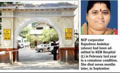 Court summons 4 docs after NCP leader's death