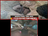Tamil Nadu: Two-year-old rescued from 18 feet borewell in Nagapattinam