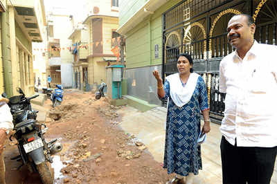 Corporator says BWSSB is the reason she can't go out