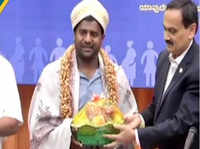 Bengaluru: Paralympic high jumper Girish Gowda appointed as Karnataka LS Elections Ambassador
