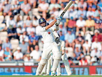 India vs England Test match: Cheteshwar Pujara scores an unbeaten 132