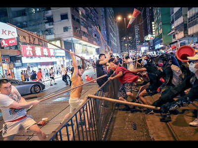 Punishment is coming: China to HK protesters