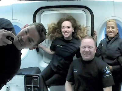 SpaceX's all-civilian crew has returned to Earth safely