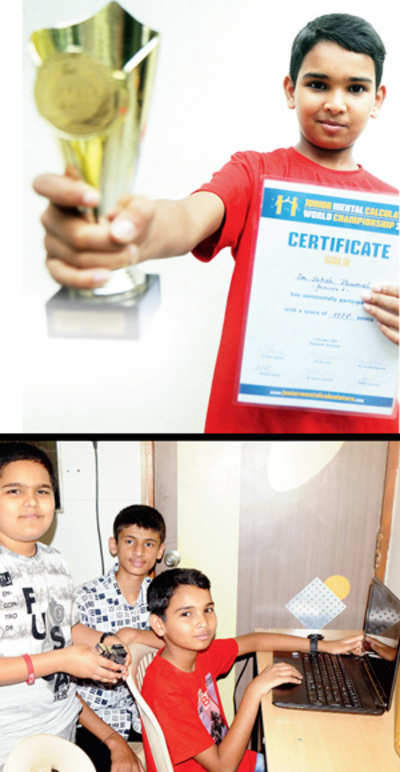 City boy shines at world mental math championship