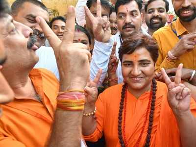 Pragya Singh Thakur's journey from prison cell to temple of democracy