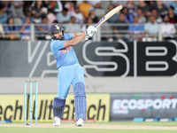 Rohit Sharma becomes top run-getter in T20Is with match-winning knock against New Zealand