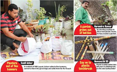 A 'Quit India' movement against plastic in Bengaluru