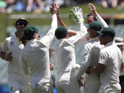 India 56-4 on Day One of the Adelaide Test; Kohli gone for 3