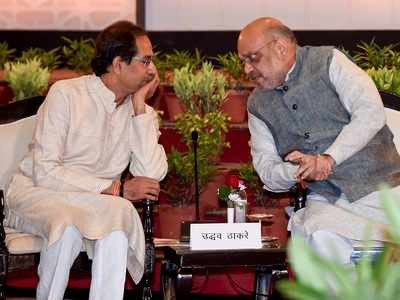Shiv Sena-BJP alliance will continue but Chief Minister will be from BJP, says Amit Shah