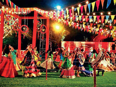Kalhaar's off-limits for garba revellers