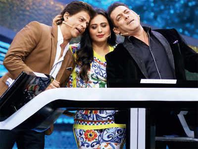 When Shah Rukh Khan, Salman Khan, Rani Mukerji reunited on Dus Ka Dum