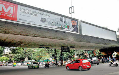 BBMP wants to ban ad boards for good