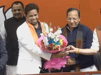 TMC MP Saumitra Khan joins BJP