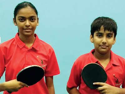 Kavya, Pratha are cadet champs