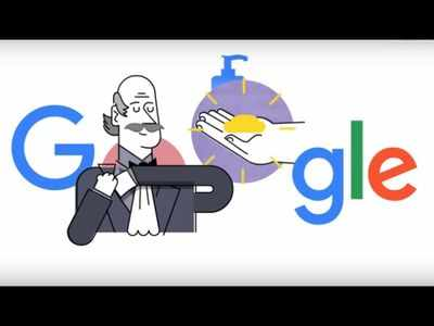 Watch: Google Doodle shows six steps to wash hands properly