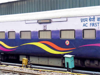 Taps, carpets go missing from Mahamana Express