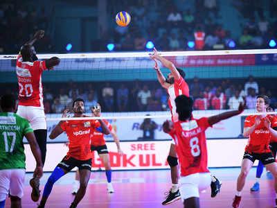 Pro Volleyball League: Calicut Heroes overcome a resurgent U Mumba Volley