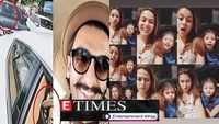 Ranveer Singh's hilarious video with father honking at traffic signal; Mira Rajput to Kajol, celebs wish Happy Daughter's Day, and more…