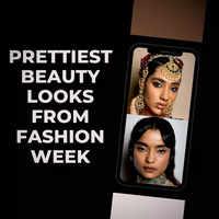 Prettiest beauty looks from fashion week