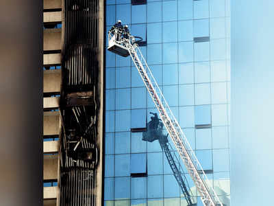 Fire breaks out in Andheri building