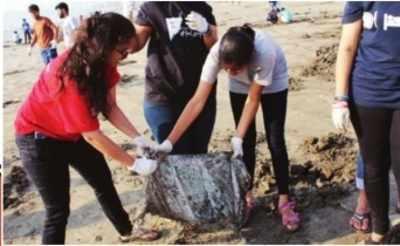 Waves of change at Versova beach