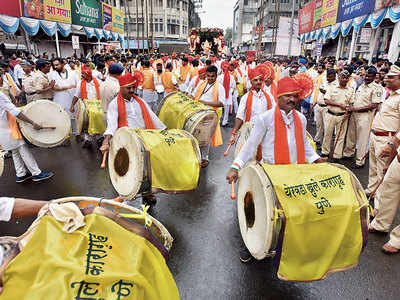 Do you think this year's Ganpati festivities were less noisy than before?