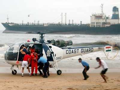 Coast guards rescue 264 distressed fishermen with help from merchant vessels transiting in Arabian sea