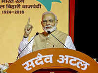'Ajey Bharat, Atal BJP': Narendra Modi's call for 2019 Lok Sabha polls at party's national executive meet