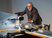 Wanted Vijay Mallya appears at F1 event in UK