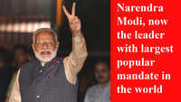 Narendra Modi, now the leader with largest popular mandate in the world