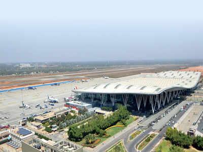 BIAL shelves Interim Terminal construction