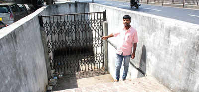 PCMC randomly shuts subway at Phugewadi