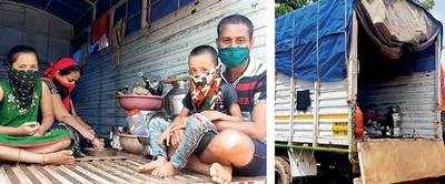 Bhor villagers force family to quarantine in tempo on hire
