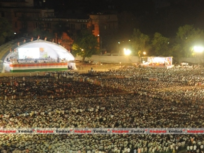 Fake Alert: Youth Congress shares 2016 photo to claim 'enormous' turnout at Rahul's recent Nagpur rally