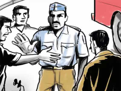 Techie on a short fuse after bang-up 'shoves' traffic cop