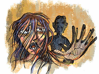 Prof molested by six members of her own society