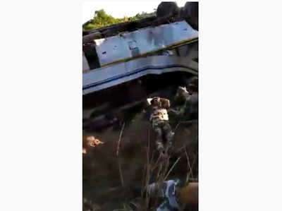 Fake Alert: Video of bus accident in Meghalaya shared as Indian soldiers killed by Pakistan Army