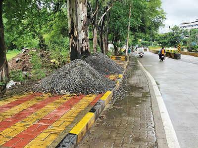 Calls to clear dumped debris at Wakdewadi