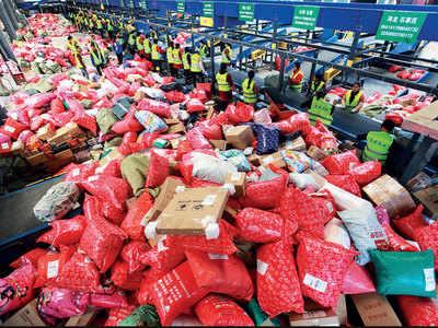 Alibaba rakes in record $38 bn sales in single day