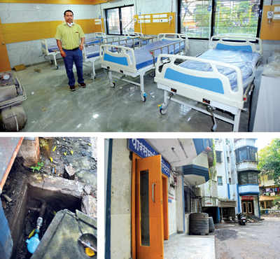 Hospital ready but yet to start as doc and residents fight